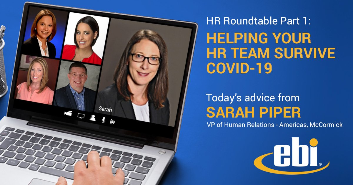 HR Roundtable Part 1: Helping Your HR Team Survive COVID-19